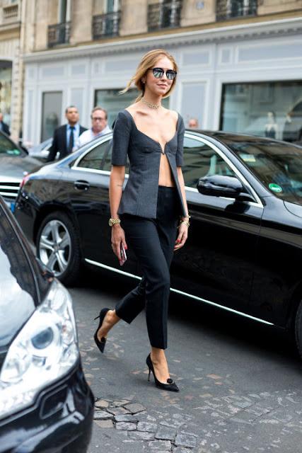 Fashion Week in Paris: Chiara Ferragni for Christian Dior