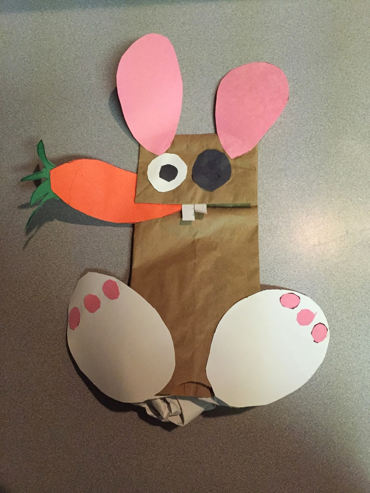 Recreation Therapy To Create A Better Life Easter Puppet Bunnies