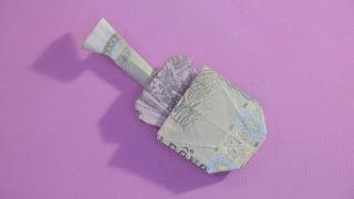 Hướng dẫn cách gấp cây đàn guitar bằng tiền giấy