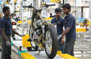 Diploma/ITI Mechanical  Candidates Required in Royal Enfield Vallam Plant For Position Paint Shop Maintenance
