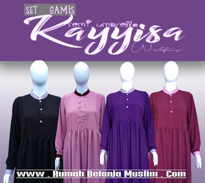 Set Gamis Syari Babydoll Kayyisa