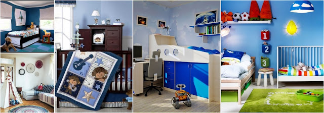 12 Magnificent Modern Boys Bedrooms In Blue