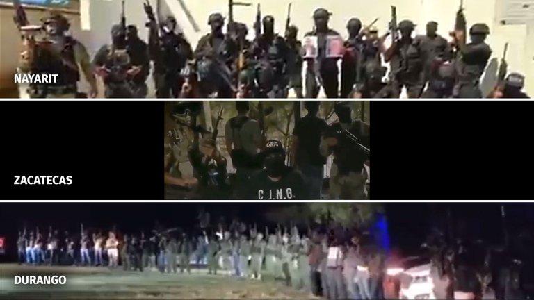 """El """"Mayo"""" vs. el """"Mencho"""": la guerra por el control de Zacatecas"""