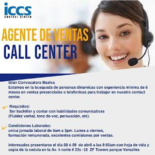 📂 Empleos en Cali Hoy como Agente de Ventas Call Center  💼 |▷ #Cali #SiHayEmpleo #Empleo