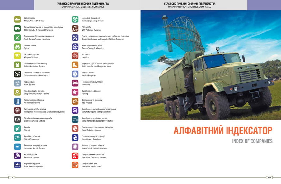 каталог «УКРАЇНСЬКІ ТЕХНОЛОГІЇ: Українські приватні оборонні підприємства 2016»