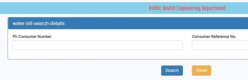 ulbodisha.gov.in search water bill