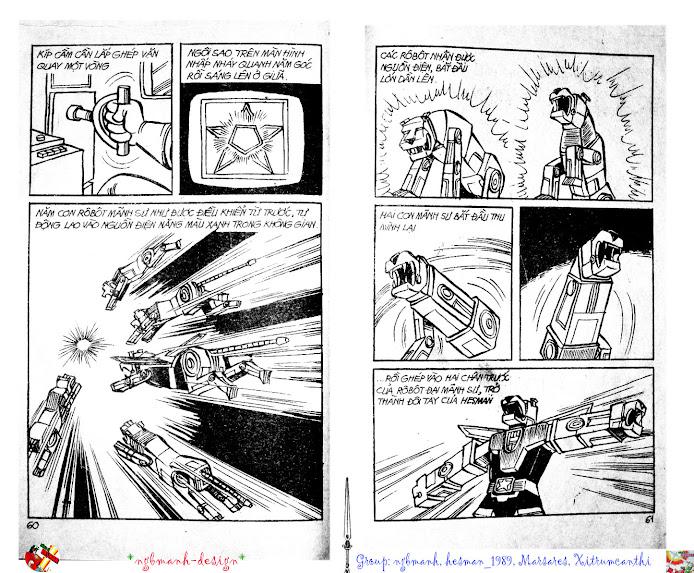 Dũng Sĩ Hesman tập 2 - hesman xuất hiện trang 32
