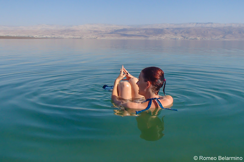 Float Sitting Floating in the Dead Sea and Tips Israel