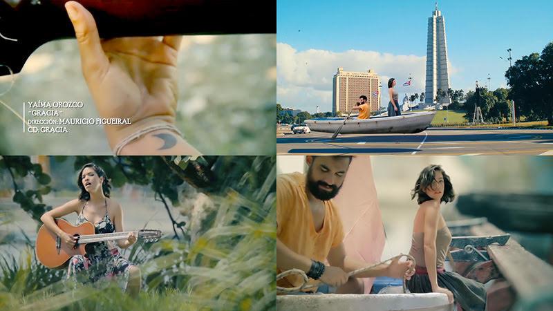 Yaíma Orozco - ¨Gracia¨ - Videoclip - Director: Mauricio Figueiral. Portal Del Vídeo Clip Cubano