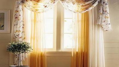 Gambar gorden jendela minimalis terbaru
