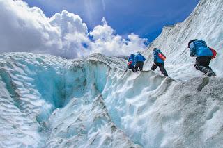 Image of mountain trekkers