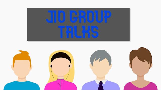 Jio group talk app , jio ,