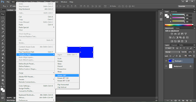 Cara Mudah Dan Simple Membuat Geometric Art Dengan Adobe Photoshop