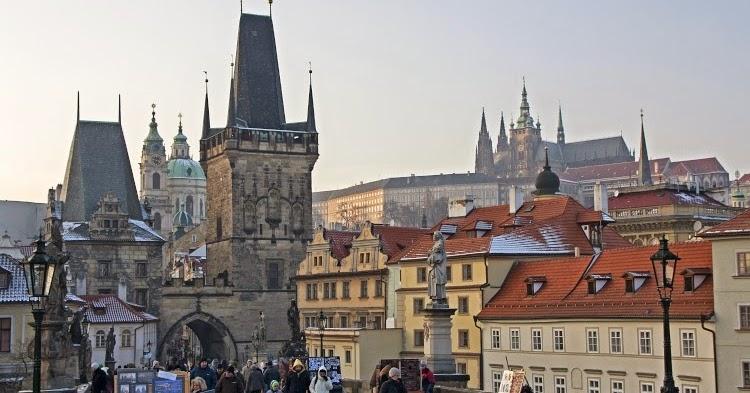 Фотографии Праги: город Прага зимой