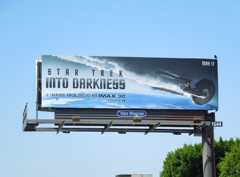 Star Trek 2 movie billboard