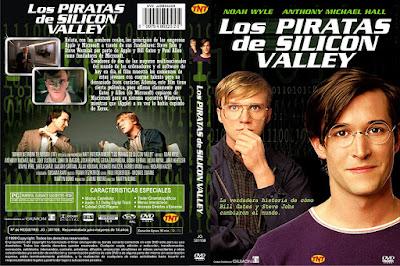 Carátula dvd: Los piratas de Silicon Valley