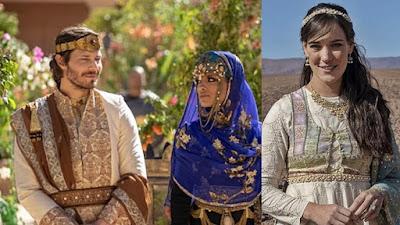 Adriana Birolli interpreta Aisha, esposa do rei Acabe