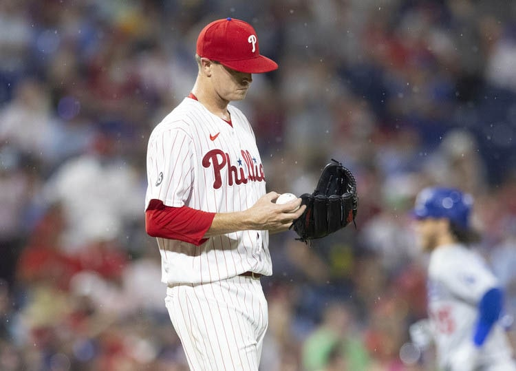Kyle Gibson and the Phillies lost to the Dodgers