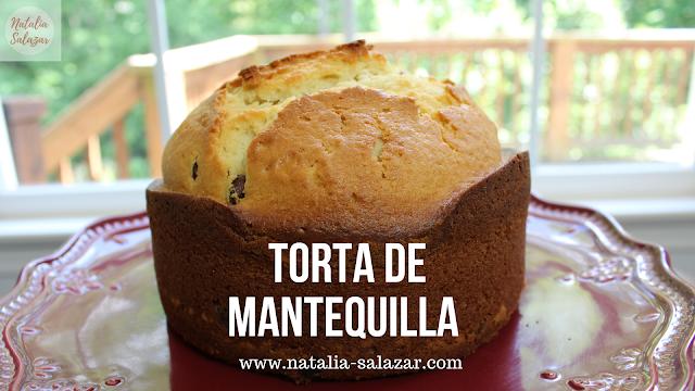 natalia salazar recetas torta mantequilla