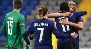 موعد مباراة فرنسا والبوسنه والهريسك في تصفيات كأس العالم