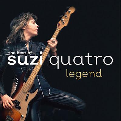 Resultado de imagem para Compilação traz o melhor de Suzi Quatro