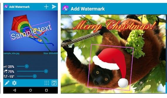 Aplikasi Cara Menambahkan Watermark pada Gambar Android - Watermark Apps Android Add Watermark Free