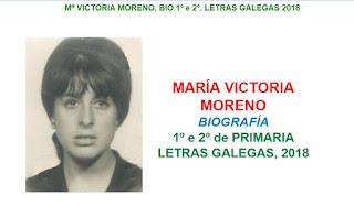 Resultado de imagen de maria victoria moreno