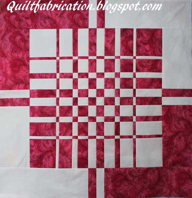 Convergence quilt top