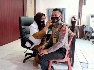 Ratusan Personel Polres Sinjai Laksanakan Rikkes Berkala TA. 2020