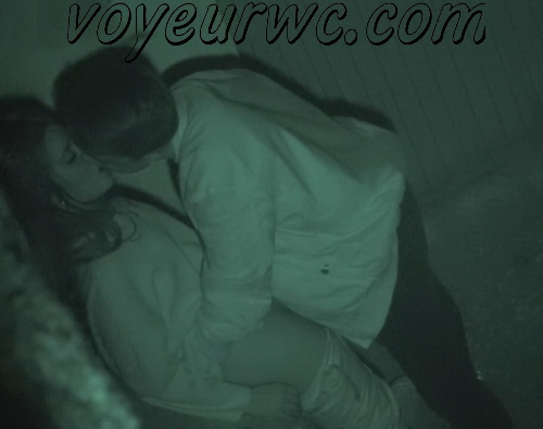 Couple Having Sex in Public on Street Hidden Cam (Galician Night Sex 201-202)