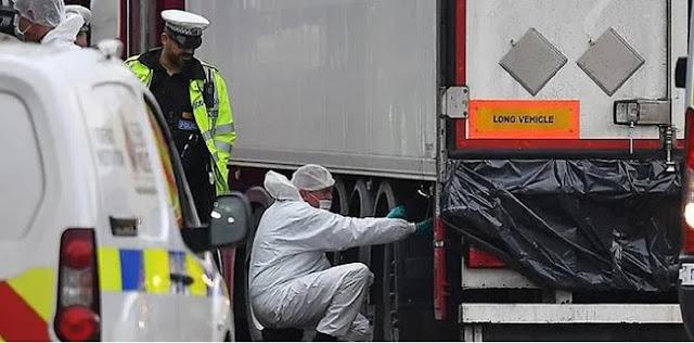 Fakta Baru Penemuan 39 Mayat Dalam Truk Kontainer Di Inggris, Korban Diduga Warga Negara China
