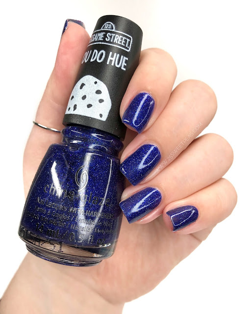 China Glaze Grover It 25 Sweetpeas