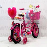 12 lisella sepeda anak perempuan