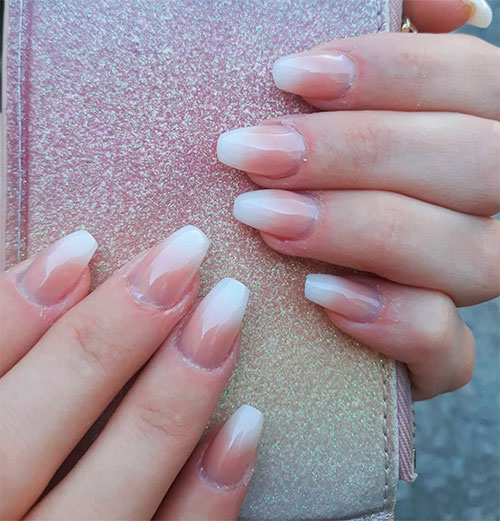 The Trendy in 2019 - How to Do French Ombre Nails with Gel Polish ...