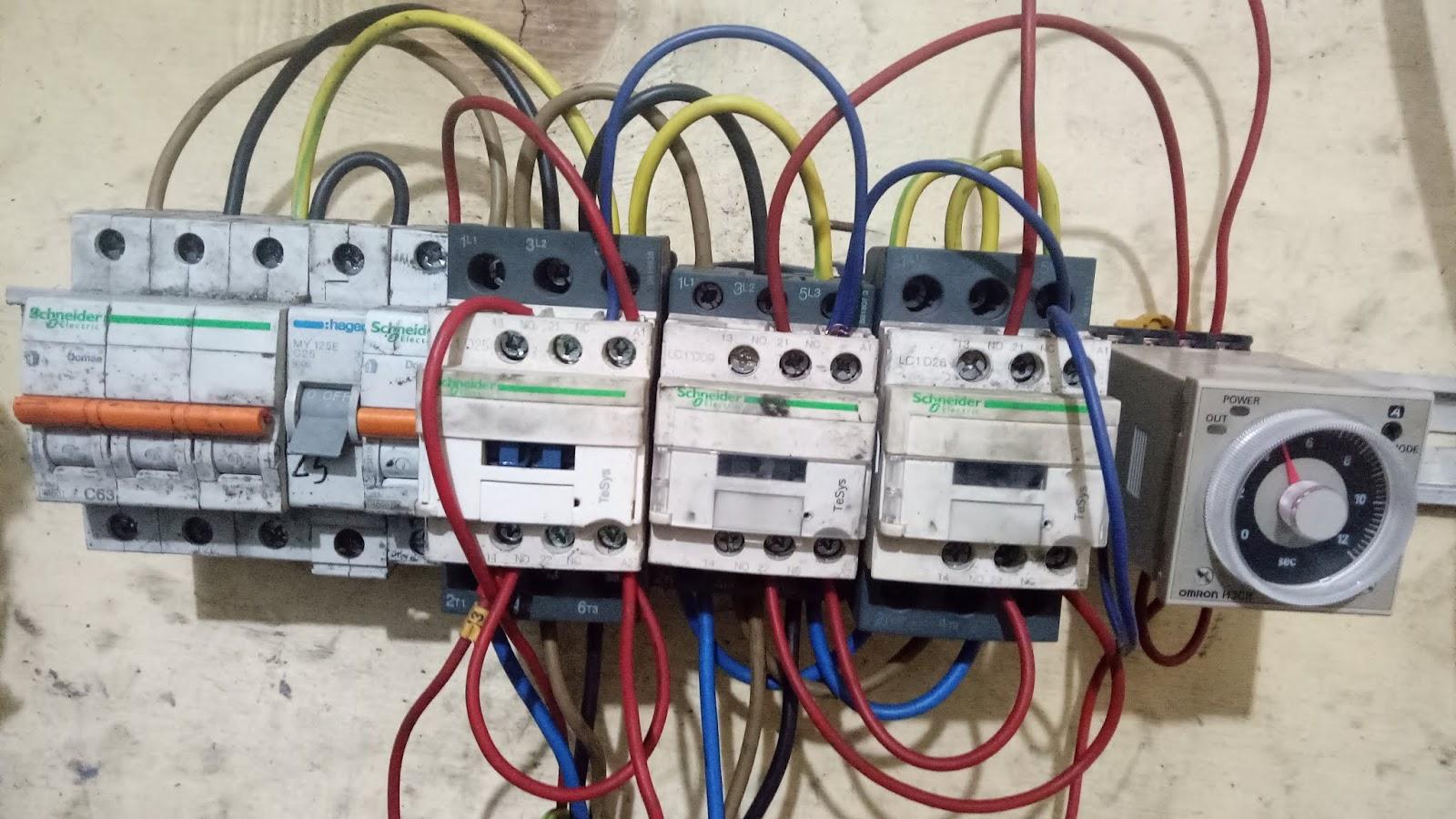 Cara Membaca Wiring Diagram Star Delta Teknik Maintenance Workshop