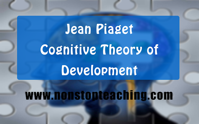 Jean Piaget Cognitive Theory of Development