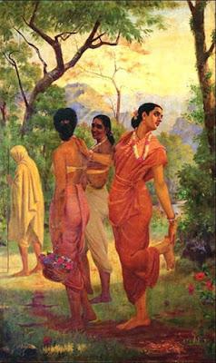 Abhigyan Shankutalam by Kalidas created by Raja Ravi Verma