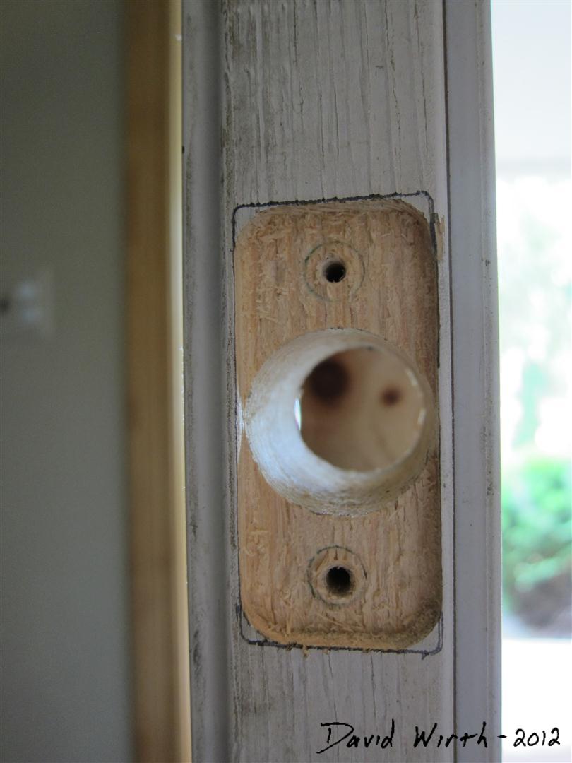 New Front Door Lock