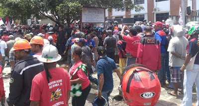 """Pasca Insiden Penembakan, Freeport """"Ngeyel"""", Pekerja Tetap Mogok"""
