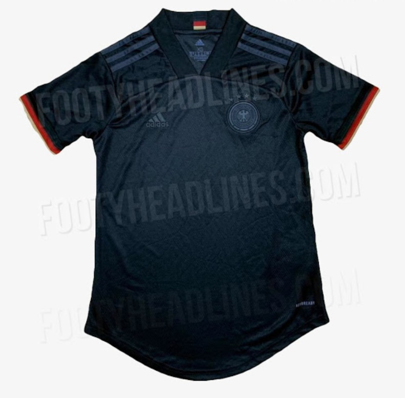 Germany Away kit for Euro 2020