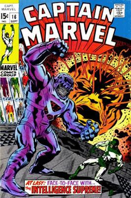 Captain Marvel #16, the Supreme Intelligence