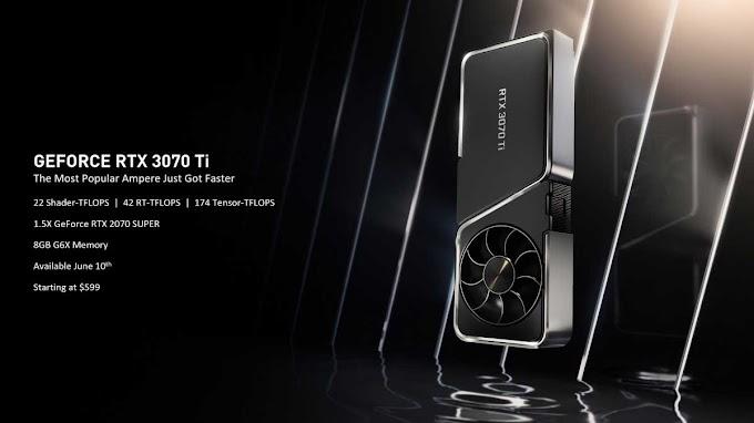 سعر ومواصفات وحدات معالجة الرسومات Nvidia GeForce RTX 3080 Ti و 3070 Ti