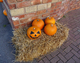Pumpkins at Pleasureland Southport