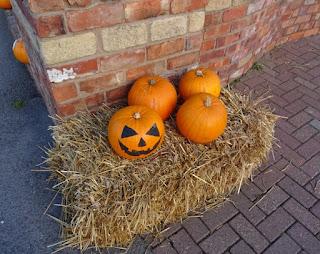 Pumpkins at Pleasureland Southport