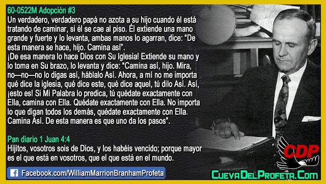Papá Dios enseñando a caminar - William Branham en Español