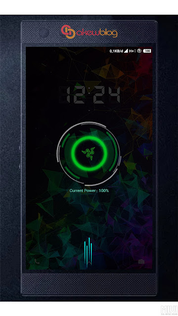 Xiaomi Theme Razer Phone with Boot Animations MIUI V10 2019