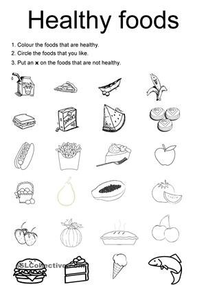 Common Worksheets » First Grade Health Worksheets - Preschool and ...