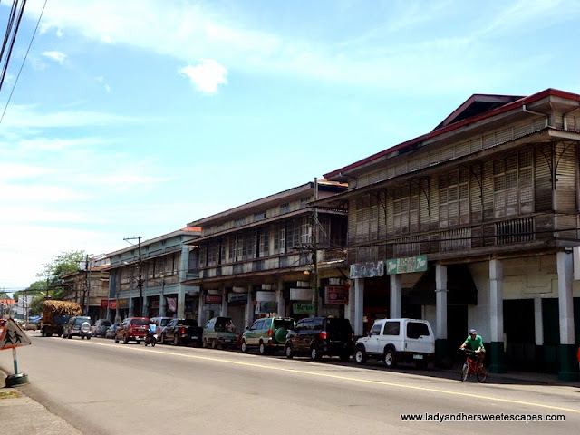Historical Buildings across Silay Public Plaza