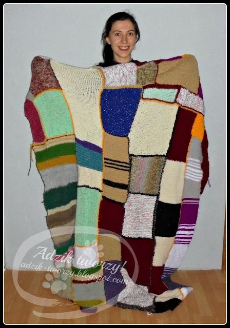 Temperature Blanket #9 - Podsumowanie