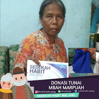 Mbah Marpuah : Donasi Tunai